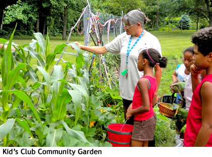 Good Sam Kid's Club Community Garden