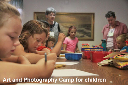 Kid's Art and Photography Camp